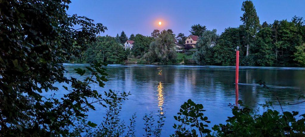 Villas sous la lune